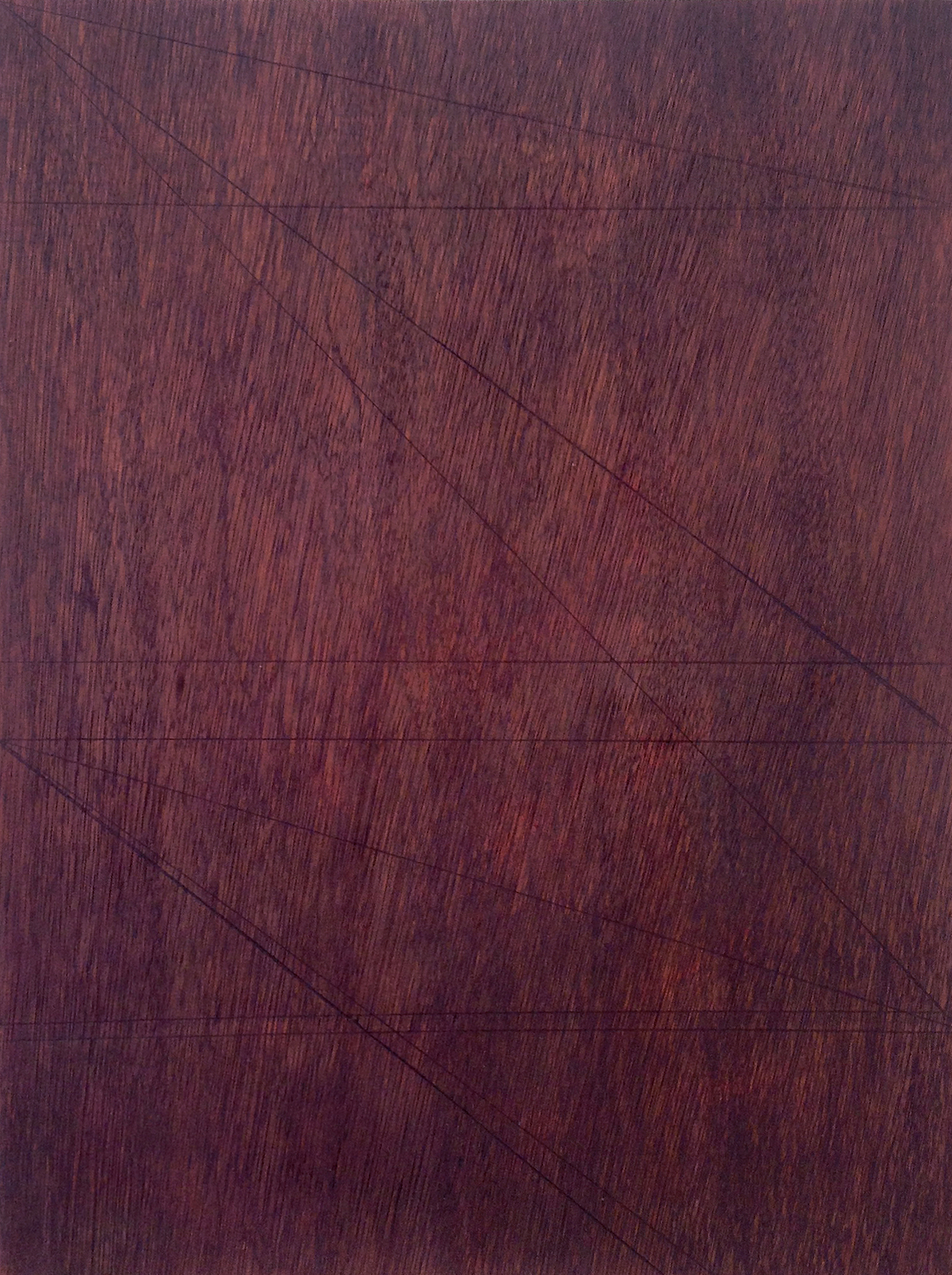 'That Place', 2014, oil paint and linseed oil on marine ply, 30 x 40 cm