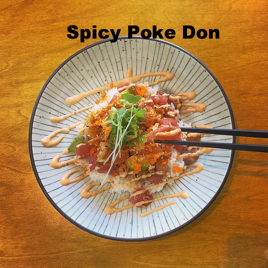 Spicy Poke Don