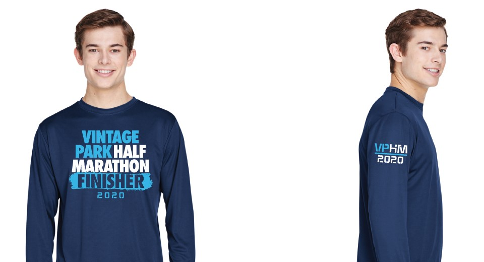 2020 Vintage Park Half - Exclusive Half Marathon Finisher Shirt
