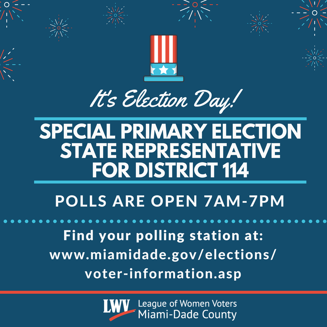 Special Primary Election - State Representative, District 114