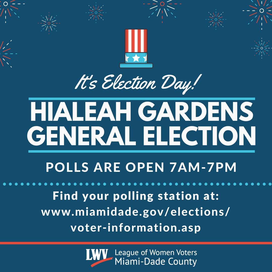 Hialeah Gardens General Election