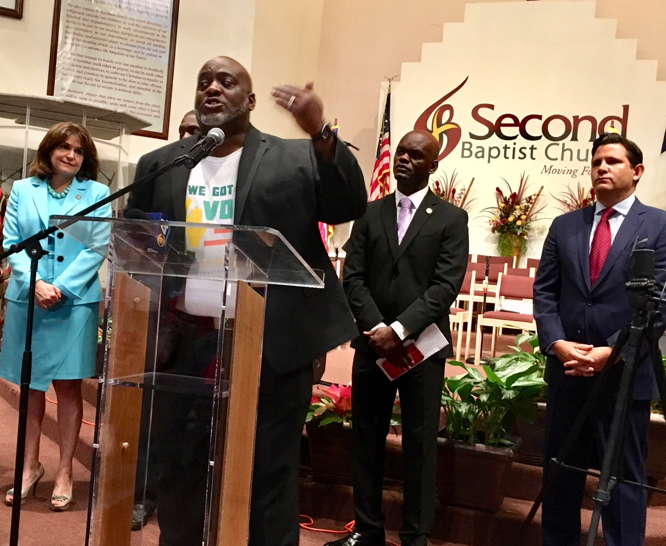 Desmond Meade explains the background and status of Amendment 4.