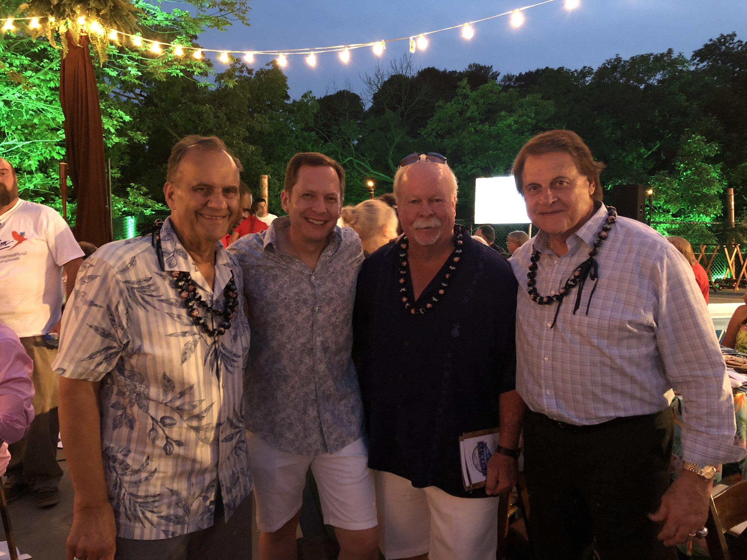 Joe Torre, David Goodman, Craig Stadler, & Tony La Russa