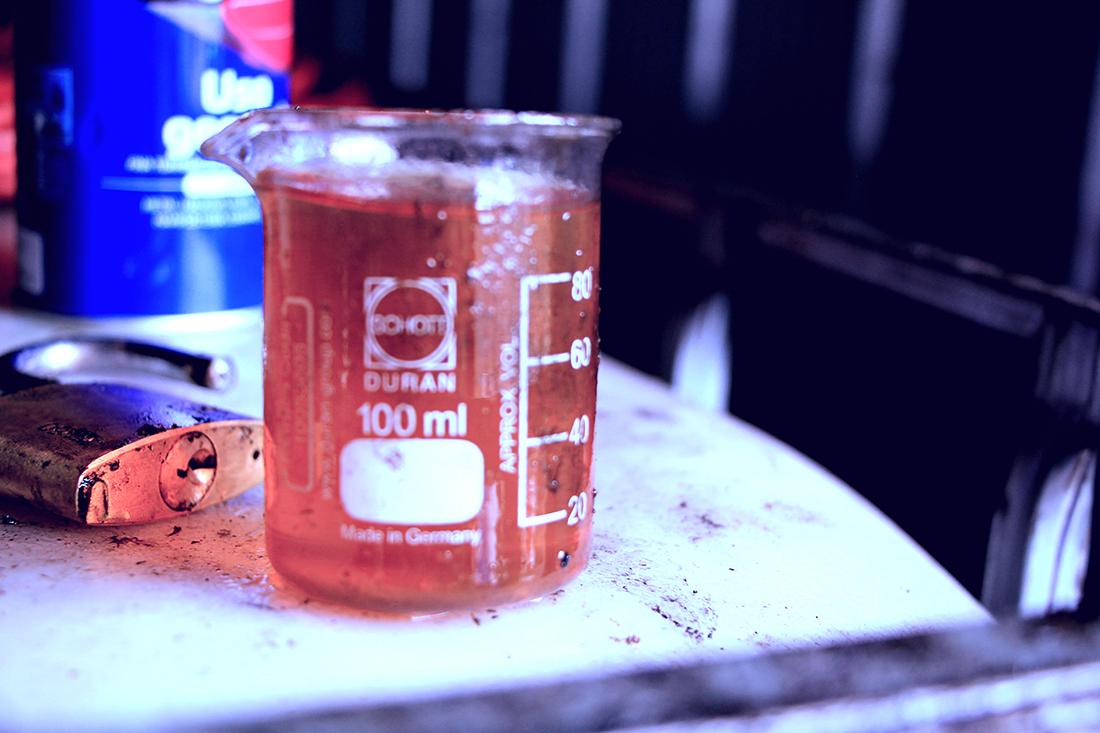Finished Biofuel at Bio Innova