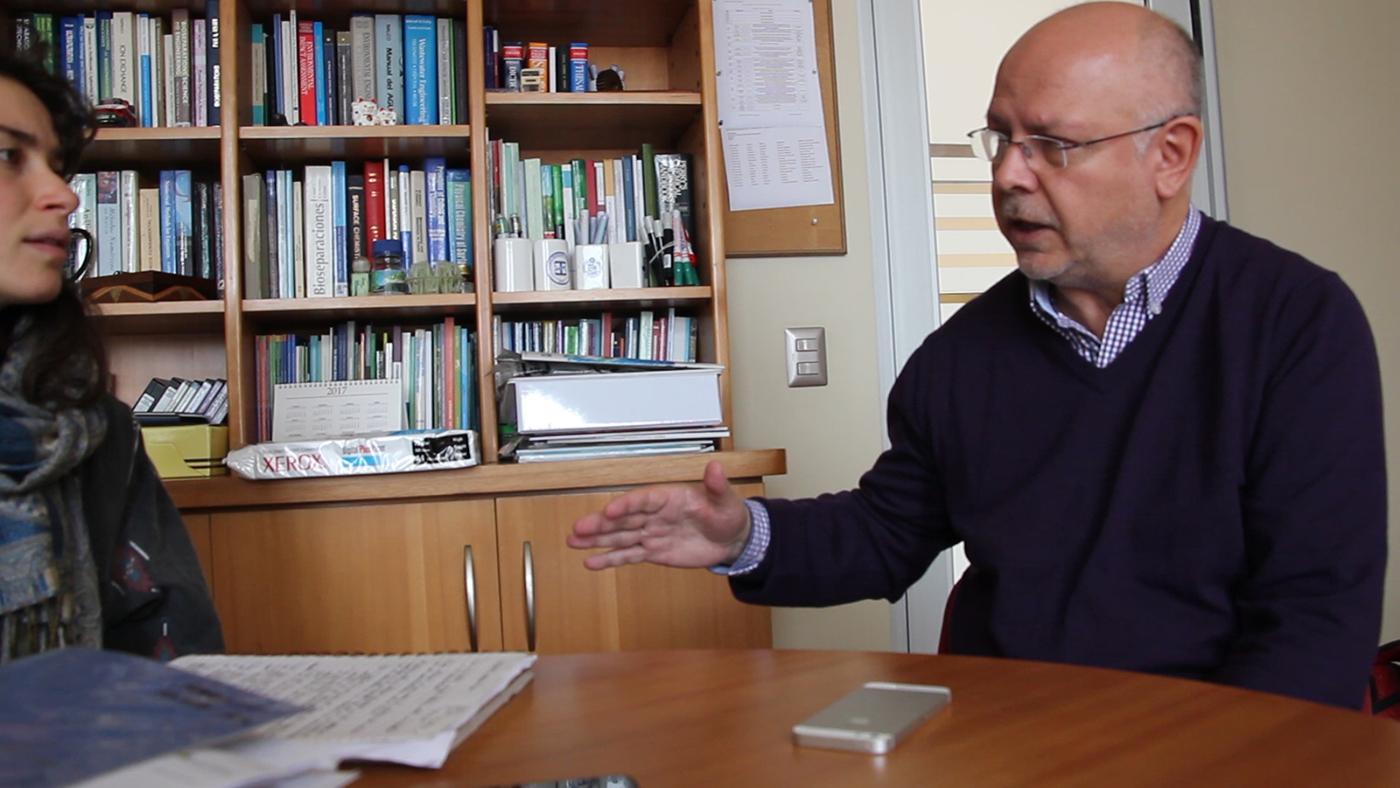 Entrevista con Germán Aroca Pontificia Universidad Católica de Valparaíso 4 mayo 2017