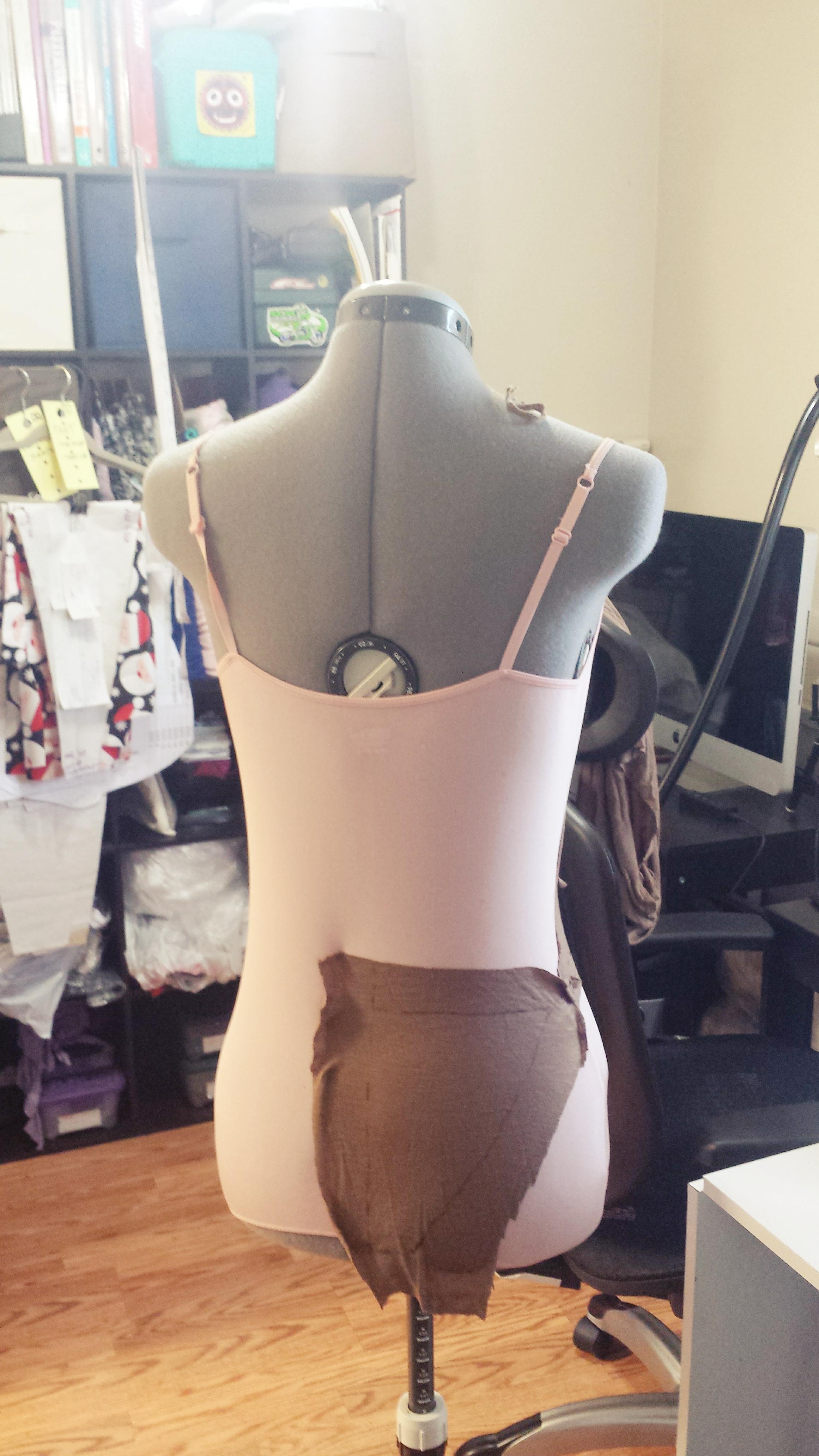 Swimsuit one piece drape- SajaEgo.com
