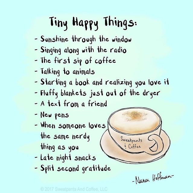 """Split second gratitude""—Happy to discover & share @sweatpantsandcoffee 🌟! . . . #powerinsmallmoments #takecourageindelight #takenotice #bravetutu #small #sweatpantsandcoffee #tinyhappythings #tiny #enjoythelittlethings #littlehappythings #smalljoys #smalljoysoflife #smalljoysoflife #courage #inordinary #gratitude #coffee #timewithfriends"