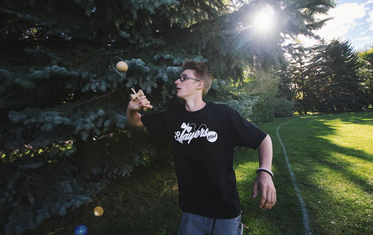 """JAROD PORTER  Coming from Calgary, Alberta; Jarod has been destroying the dama for a few years now, and is known for casually landing some of craziest tricks seen in person. The young killer.  Follow Jarod on instagram - @jawrrr    """"Good, better, best, never let it rest until your good is better and your better is best."""""""