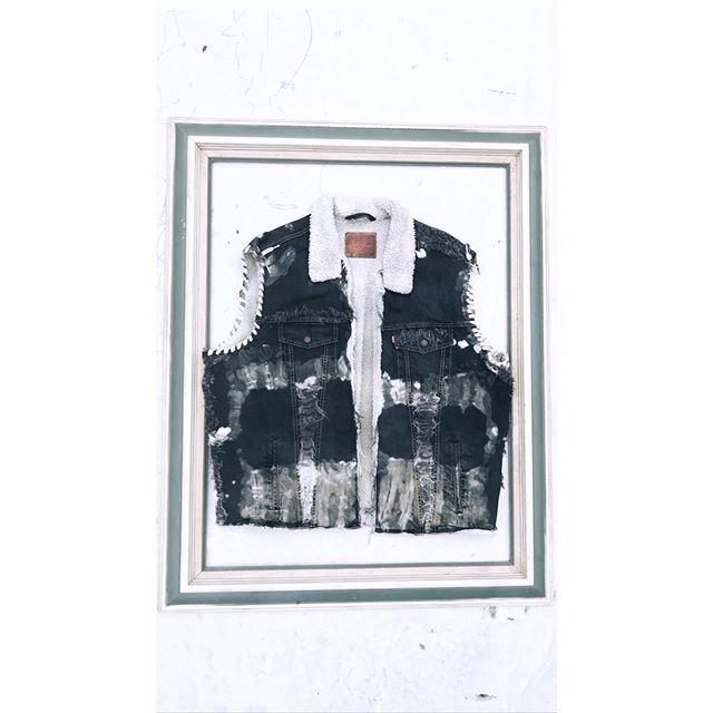 Nomad Denim Vest. Today! 1pm PST. #ResurrectedByWings #FYWco #FindYourWingsCo