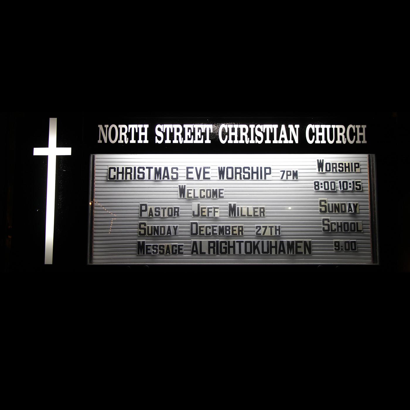 North Street Christian Church - Christmas Eve Service