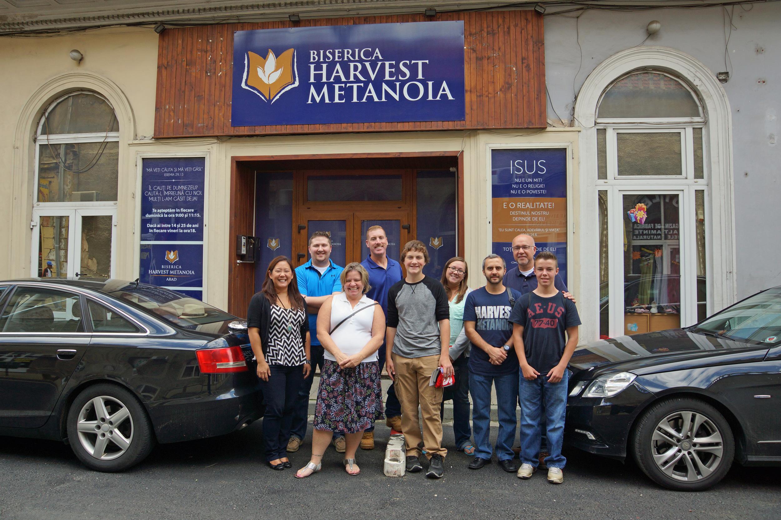 Arrival in Romania - Harvest Metanoia