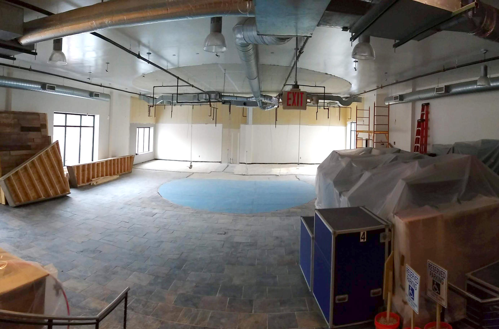 3rd day of demo, back rooms removed