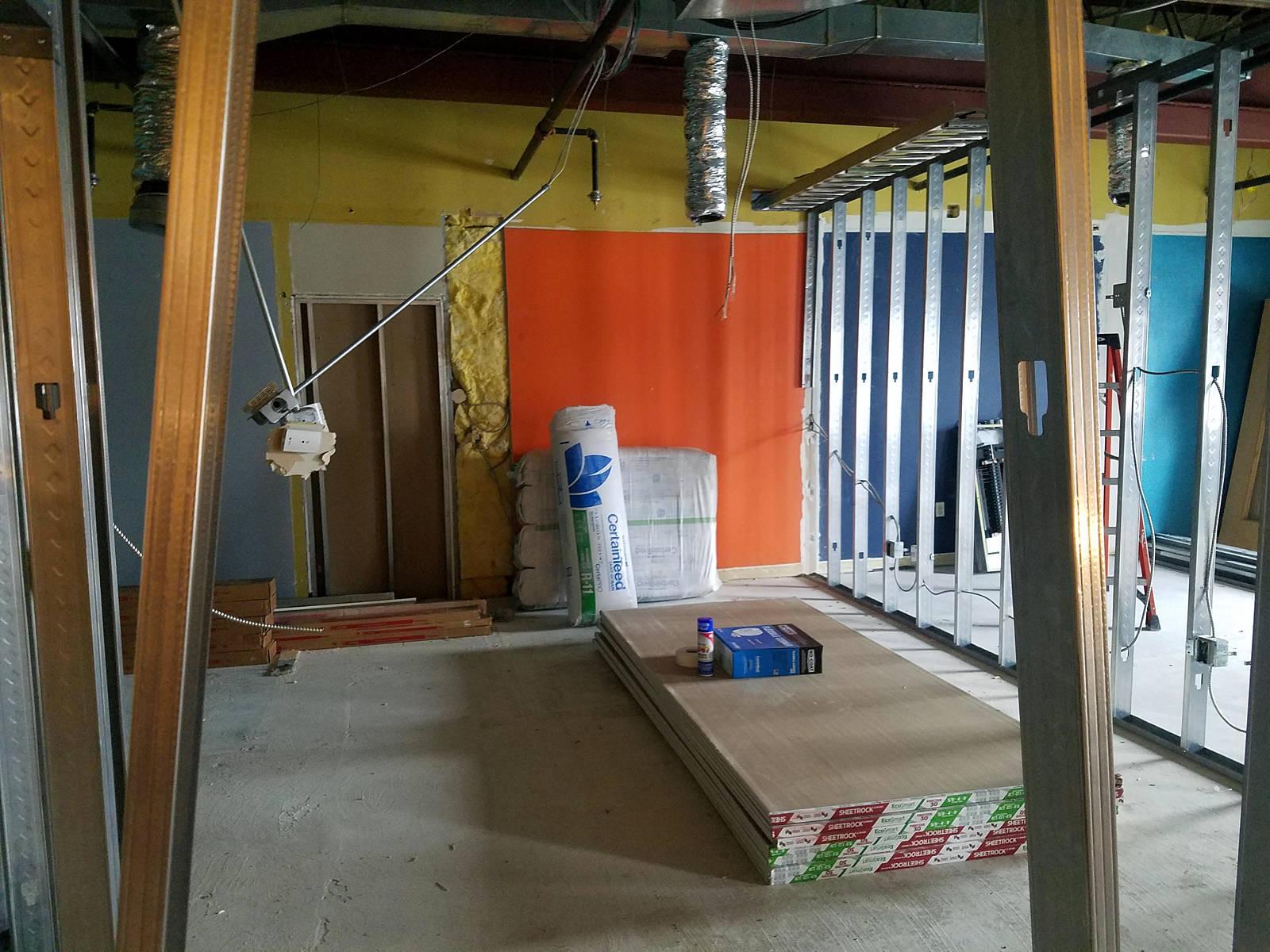 Week 3 - Kids Expansion Drywall