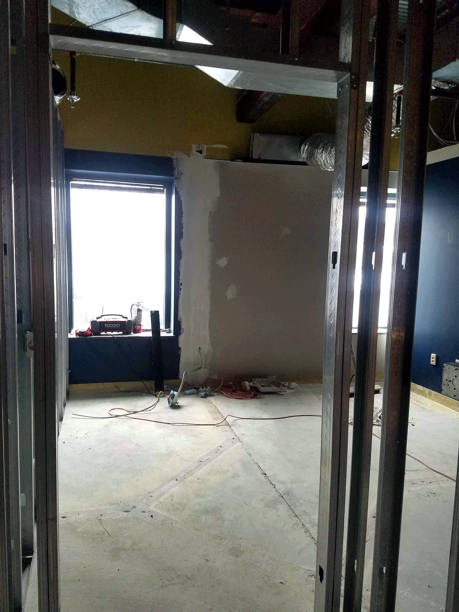 Week 3 - Kids Expansion Drywall - Office