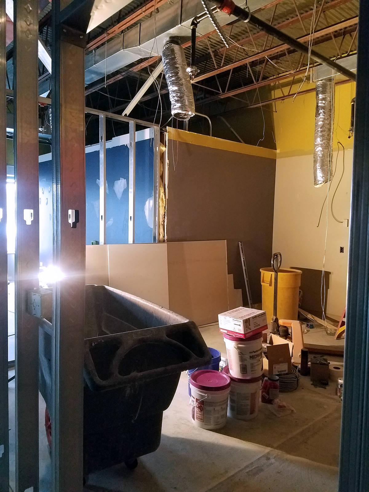 Week 3 - Kids Expansion Drywall - Toddler Room
