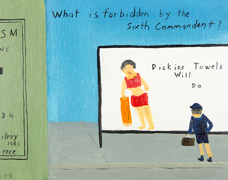 Sixth Commandment and Dickie's Towels