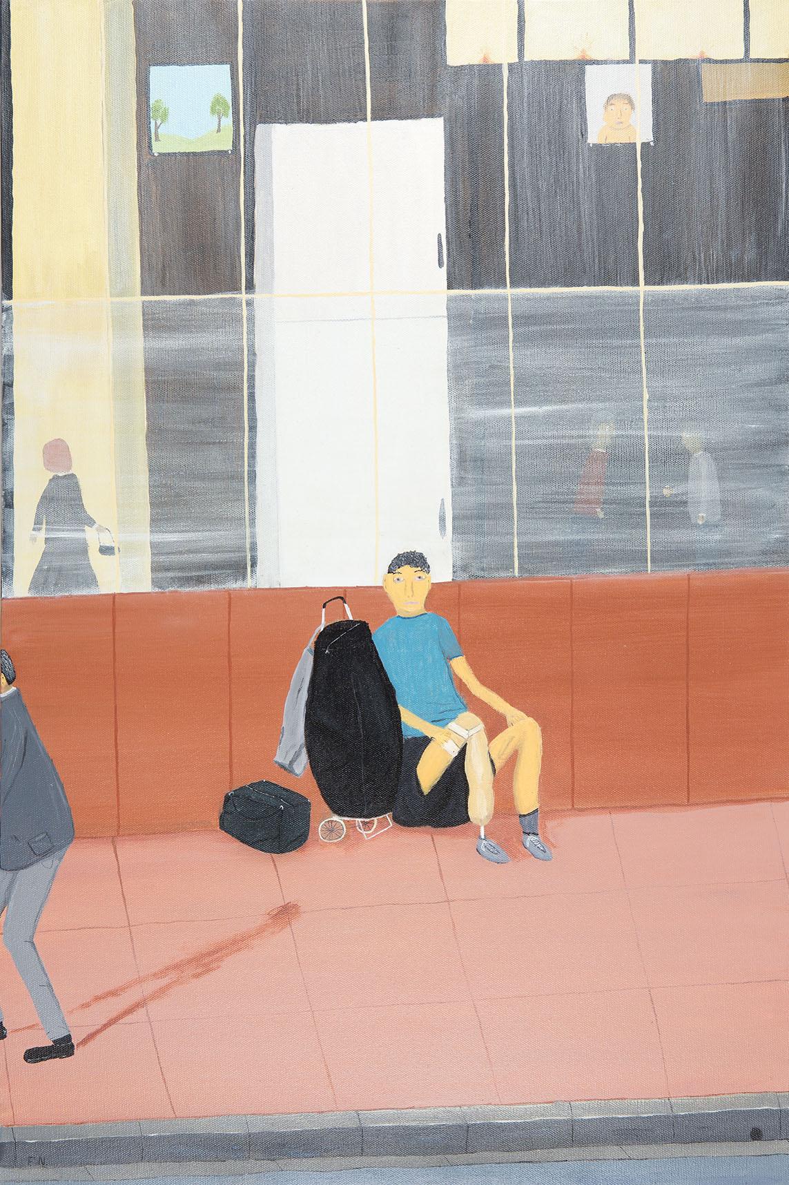 One Legged Man (diptych)