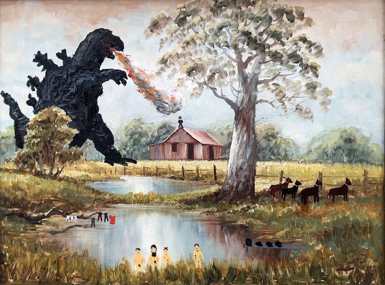 Godzilla and the Naked Kelly Gang