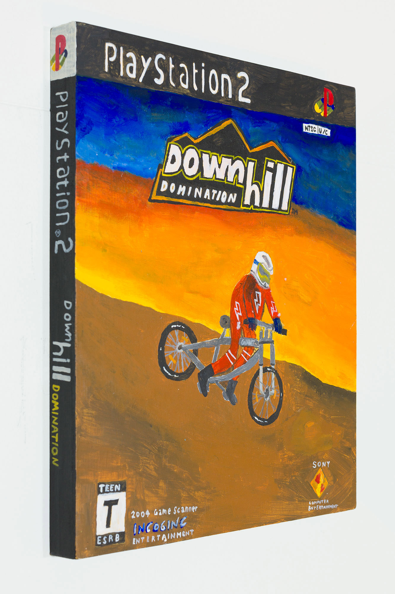 Downhill Domination (side view)