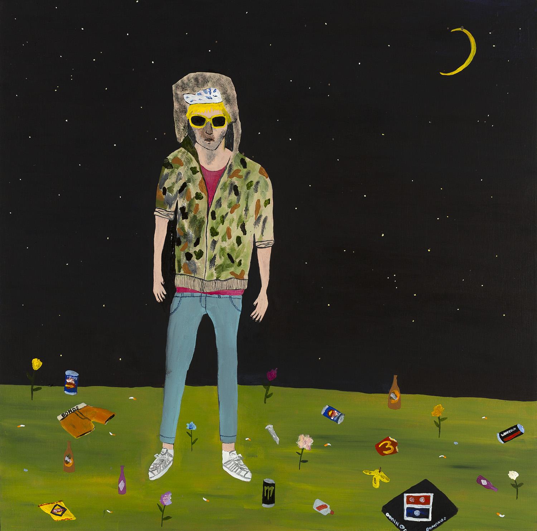 Corey Worthington Among the Garbage and the Flowers