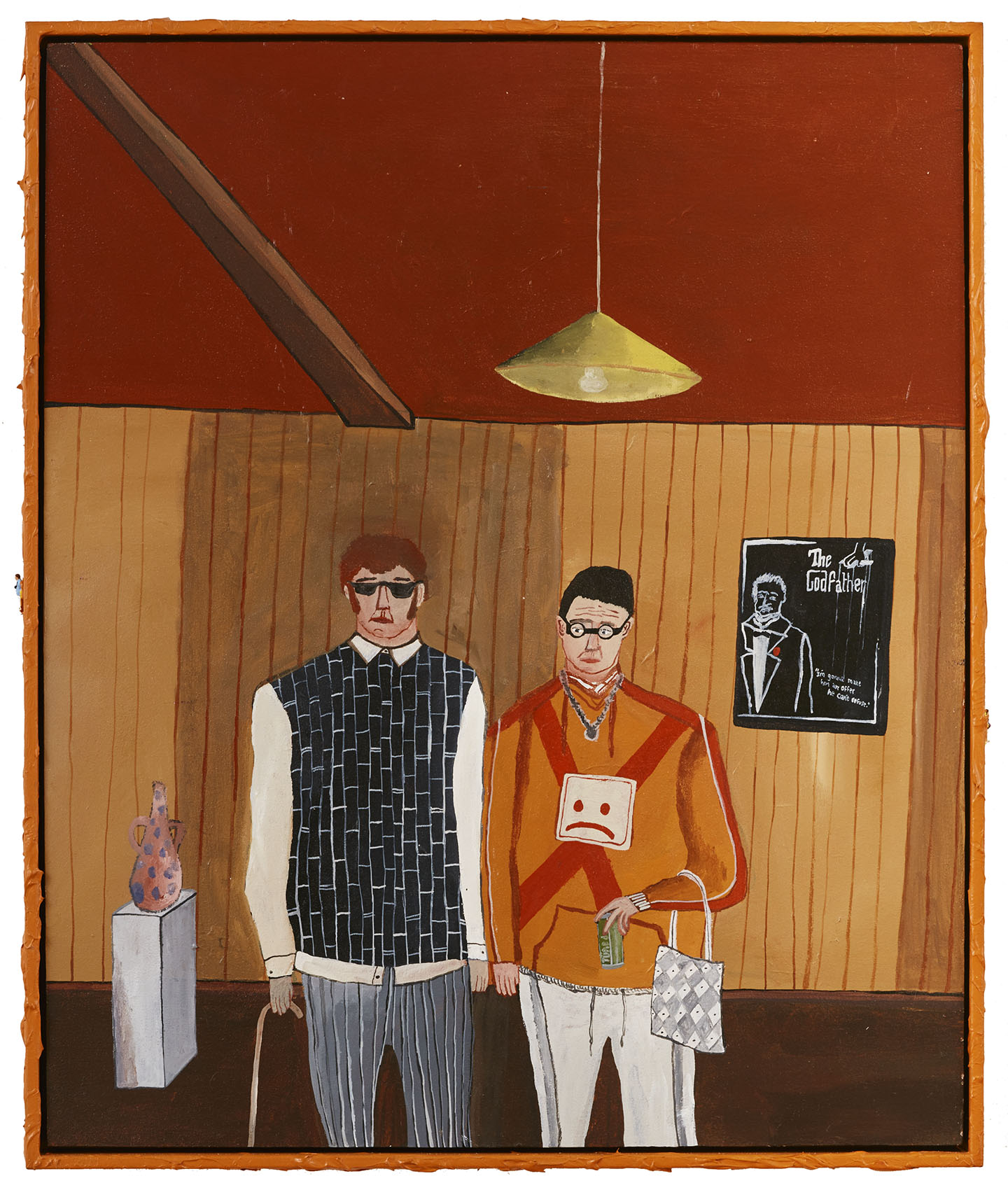 Two Curators in their Alpine Lodge