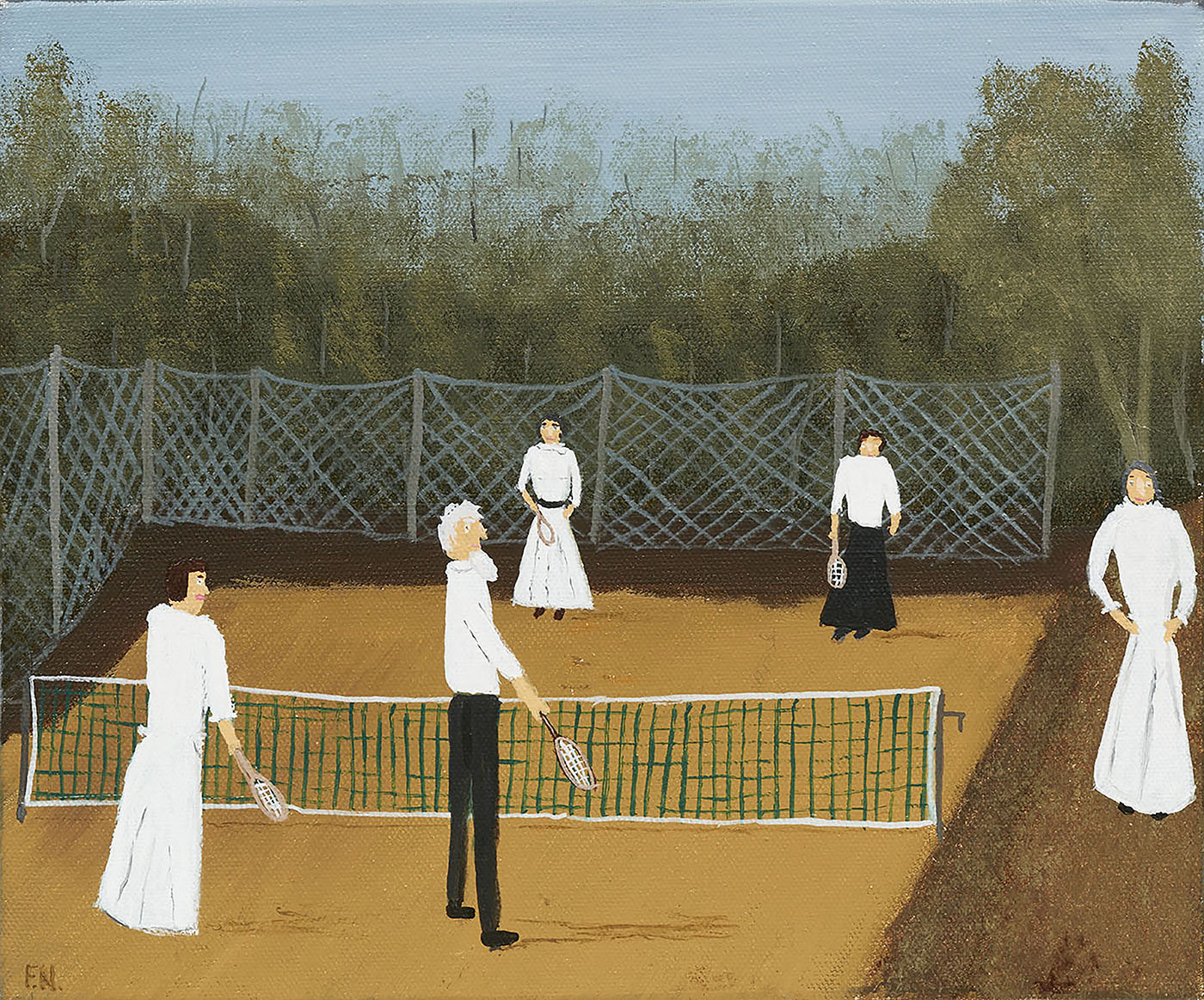 Tolstoy at Tennis