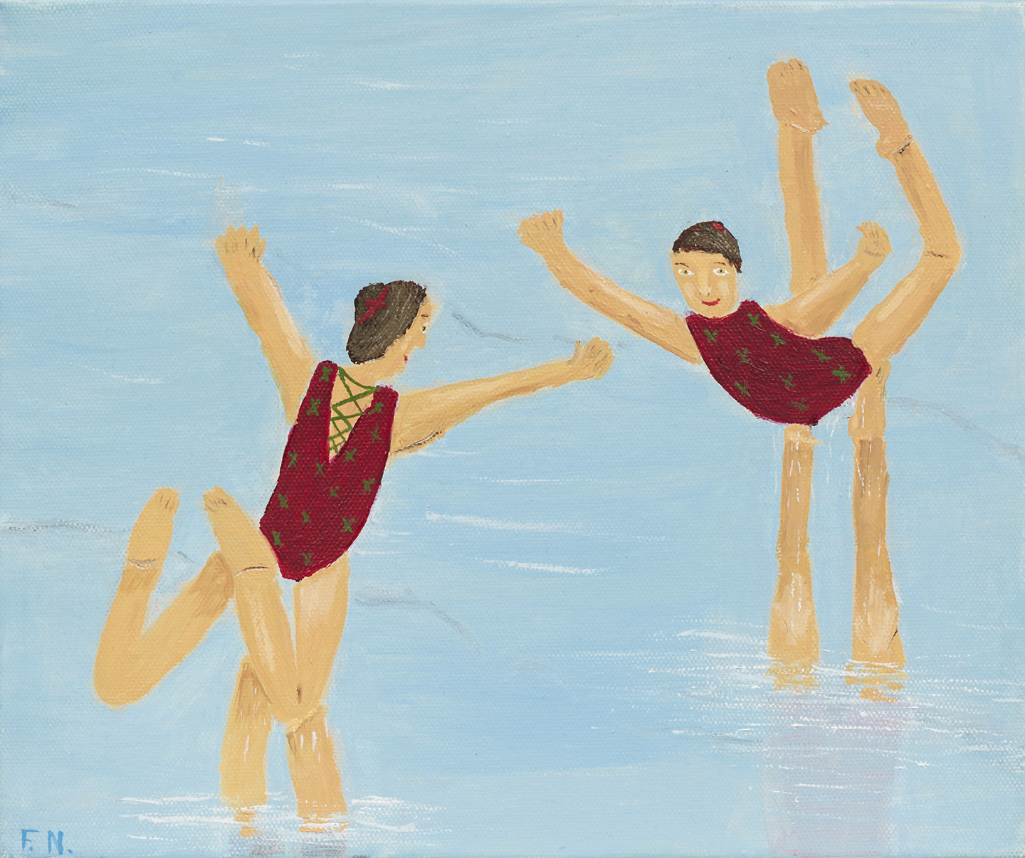 The Synchronised Swimmers
