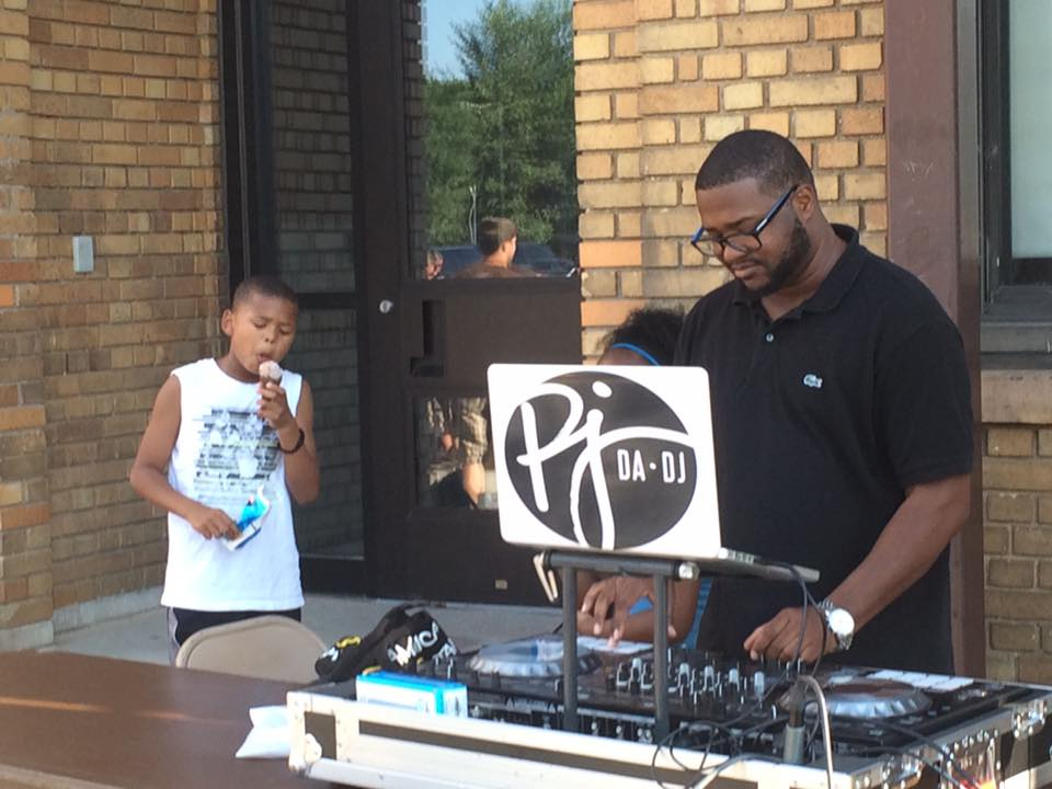 PJ Da-DJ at the 2016 National Night Out!