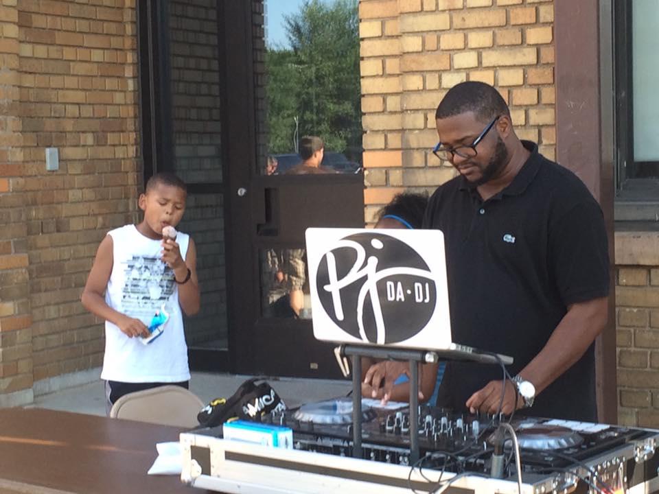 - PJ Da-DJ at the 2016 National Night Out!
