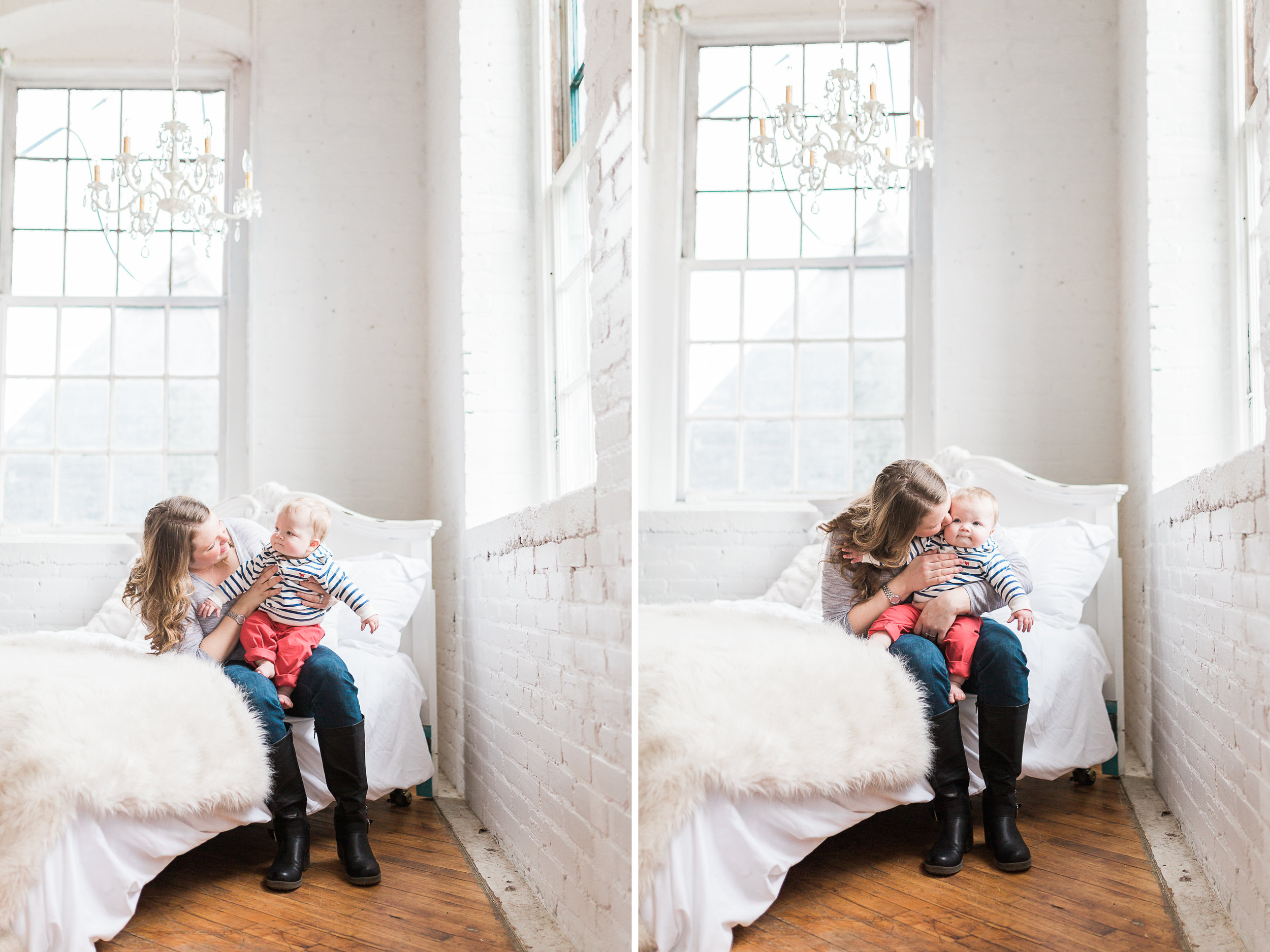 Laurenda Marie Photography Blog | Family Lifestyle Session | 6 Month Baby | Studio Session
