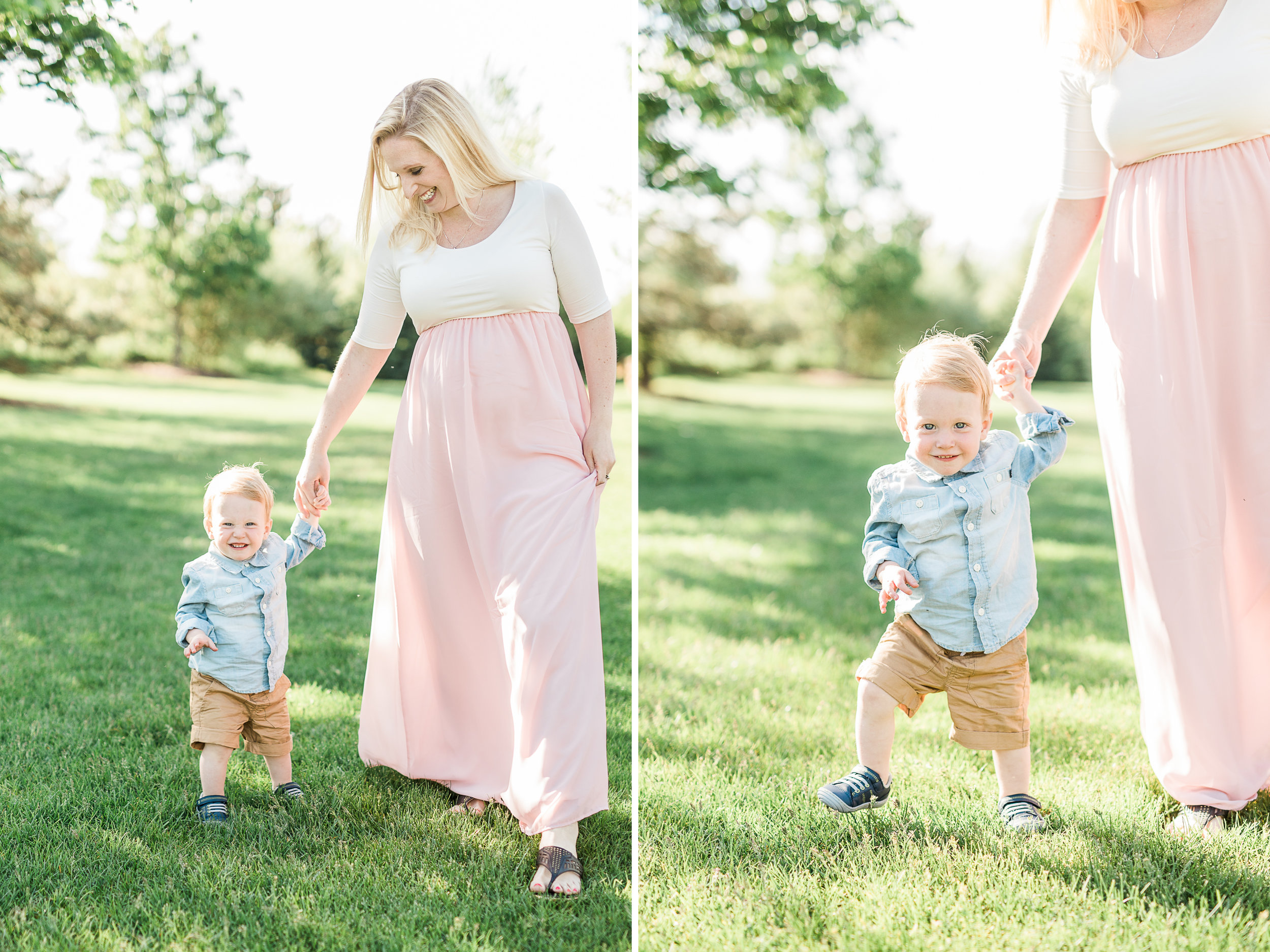 Mommy and Me | What to Wear | Light and Airy Wardrobe | Pregnant | Maternity | West Michigan Maternity Photographer