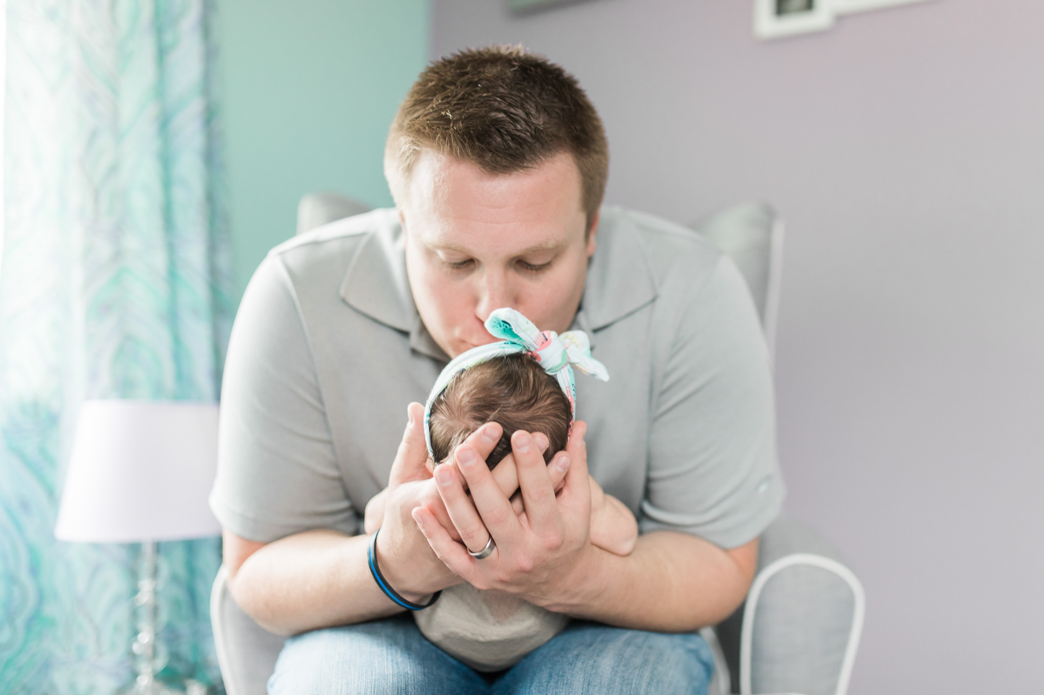 In Home Newborn Lifestyle Session for Baby Girl   Laurenda Marie Photography