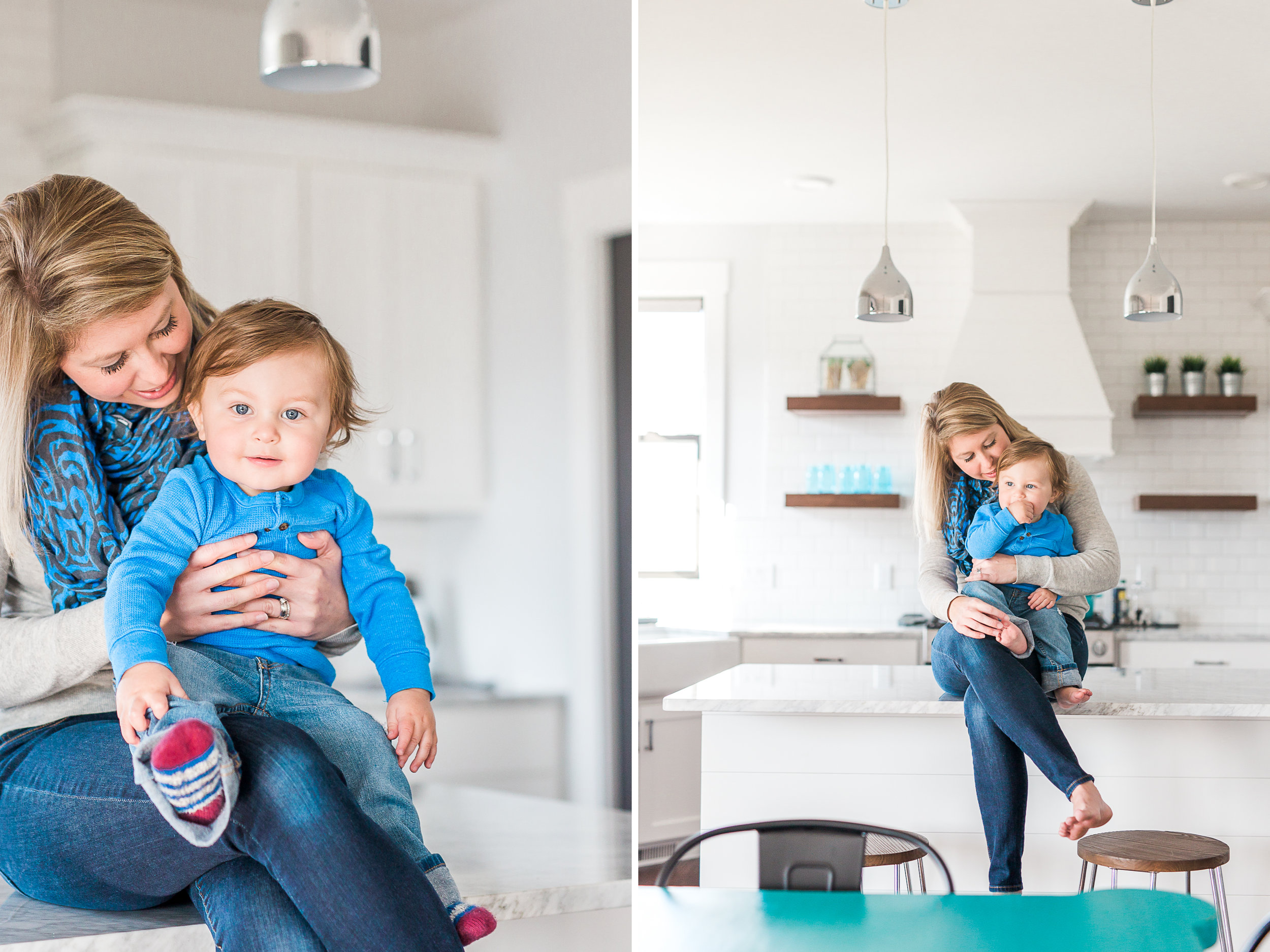 Leland's One Year in-home lifestyle session | first birthday | lifestyle photography | Laurenda Marie Photography | Grand Rapids, Michigan