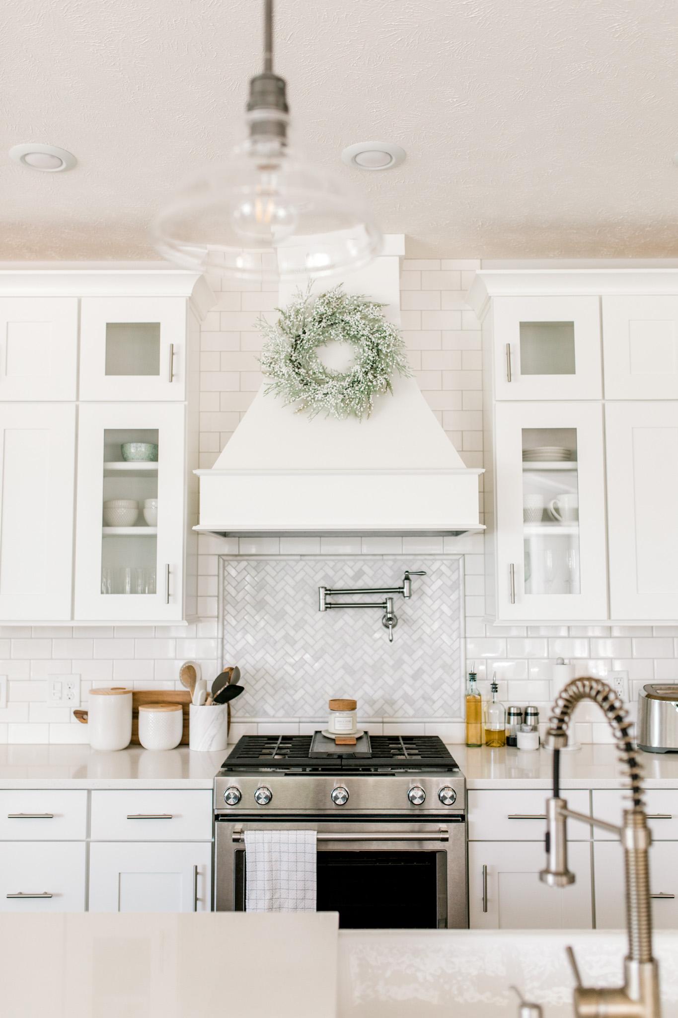 My White Modern Farmhouse Dream Kitchen   Rockford, Michigan ...