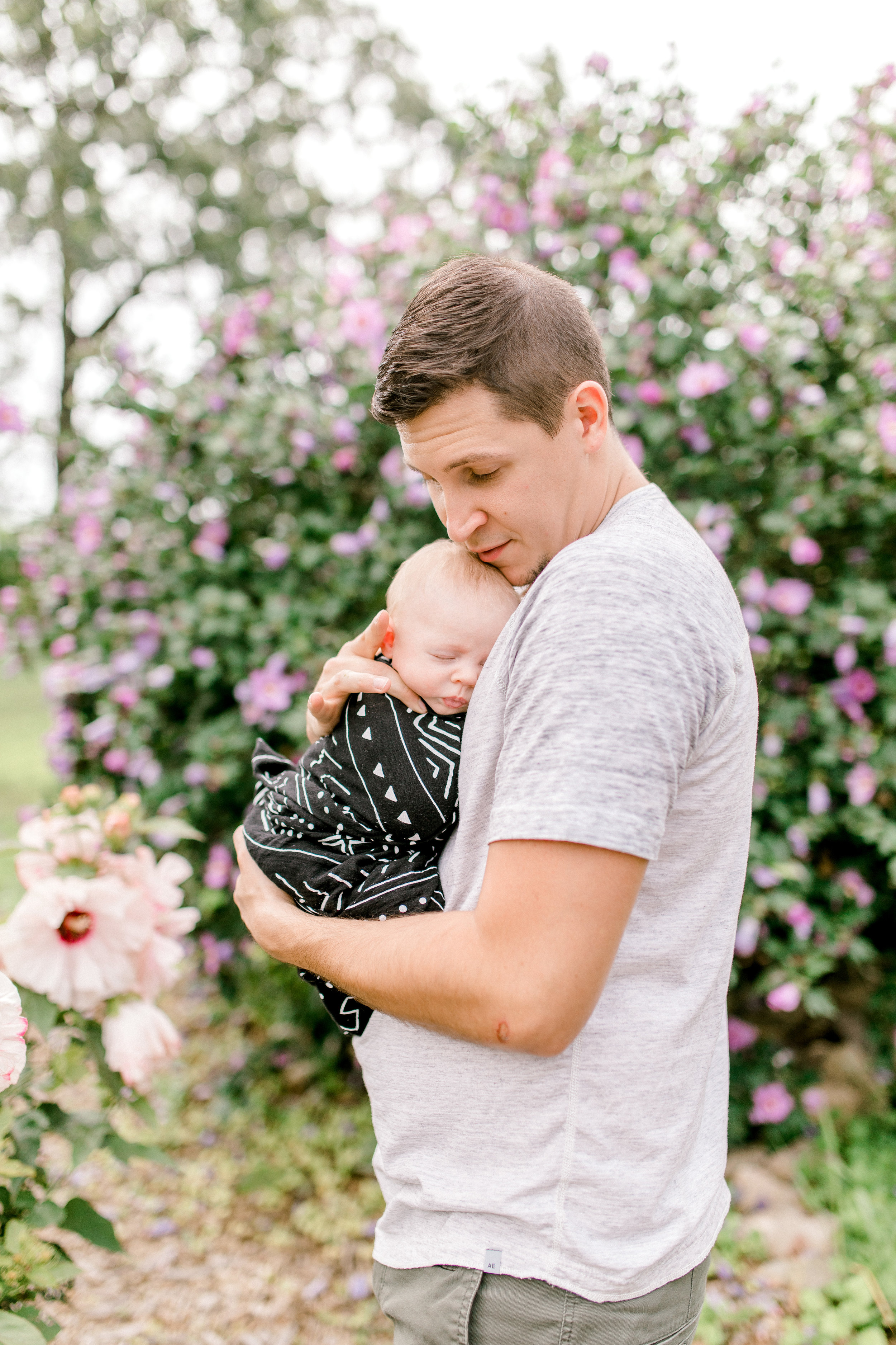 Magnolia Inspired Home | Lifestyle Newborn Session | In-Home Session | Family Lifestyle | Laurenda Marie Photography | Baby Boy Nursery | Dream Nursery | Michigan Lifestyle Photographer