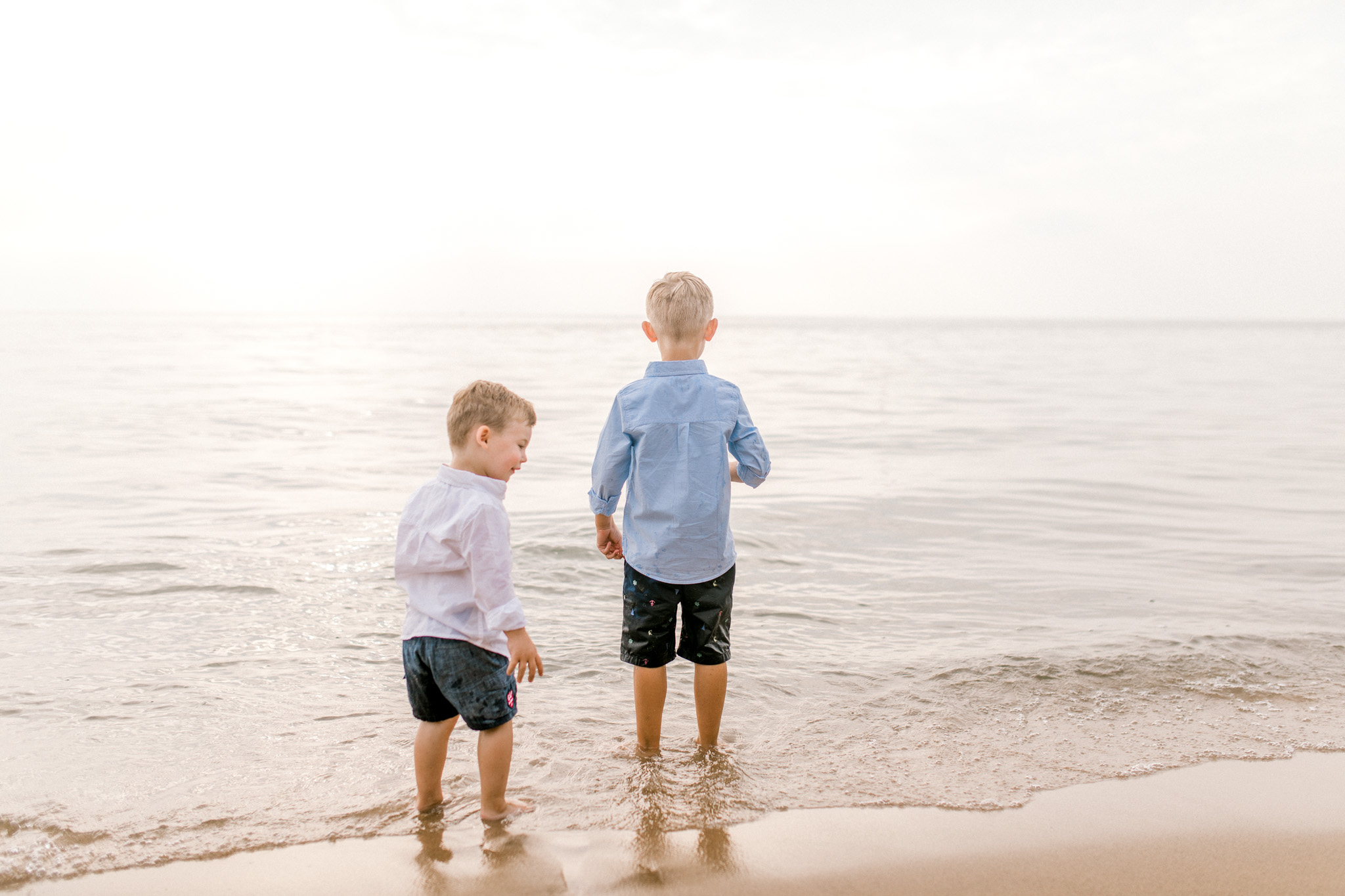 Family Lifestyle Session on the Beach | Family Photographer | West Olive, Michigan