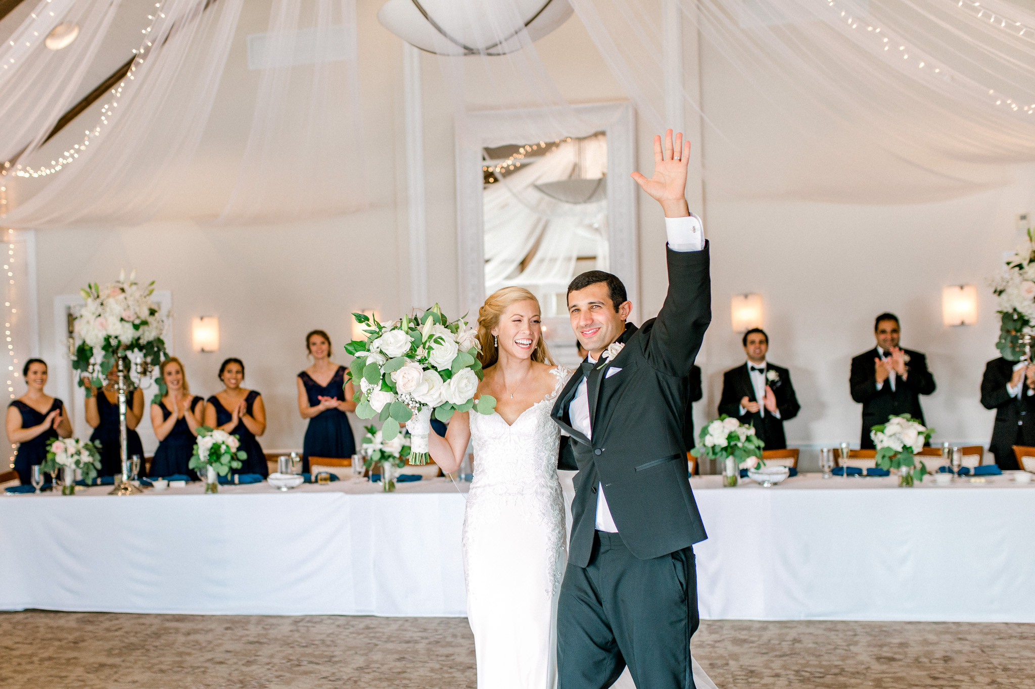 Stunning Country Club Wedding in Kalamazoo Michigan | West Michigan Wedding Photography | Classic Black and White