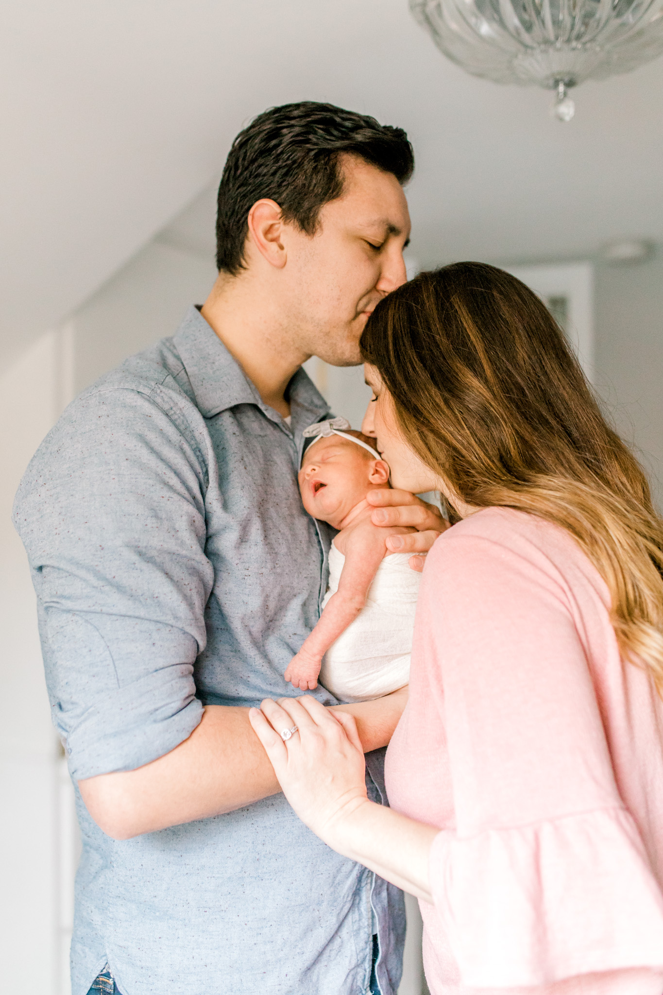 Newborn Lifestyle Session   In-Home Lifestyle   West Michigan Family Photographer   Light & Airy Photographer