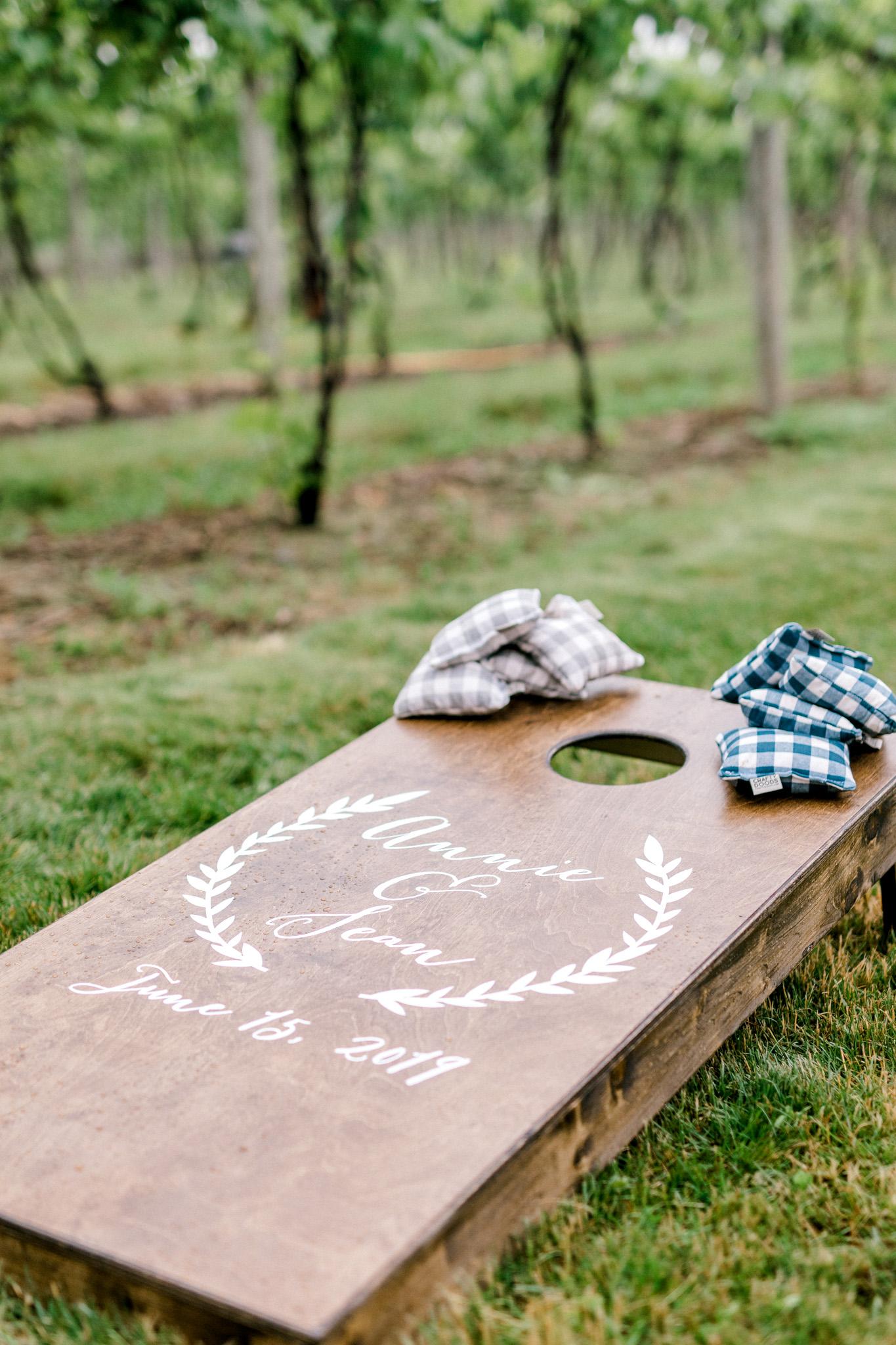 Rainy Vineyard Wedding in Southern Michigan | 12 Corners Vineyard Wedding | Beach Wedding in Michigan