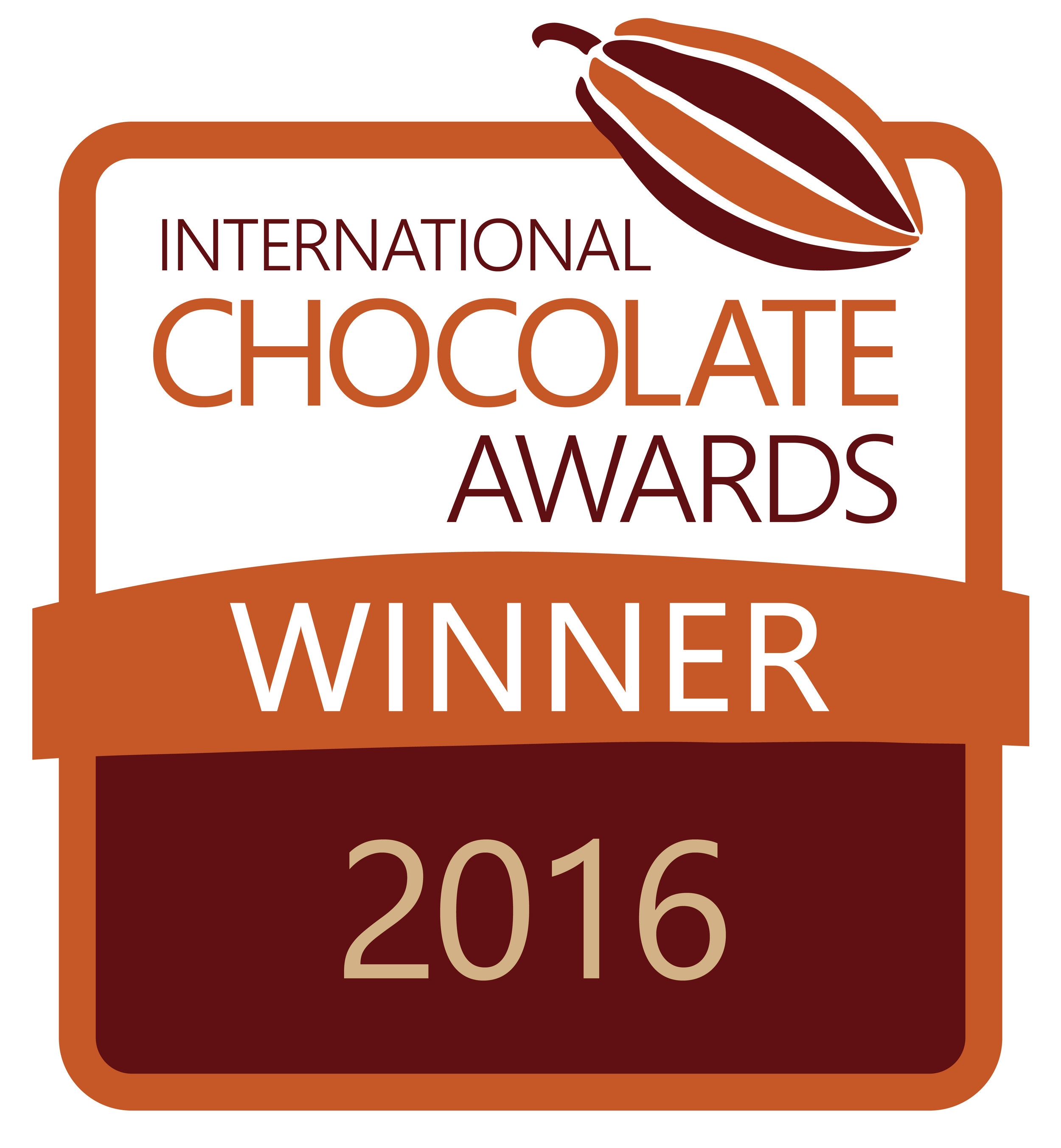 2016 World Final Silver Winner International Chocolate Awards