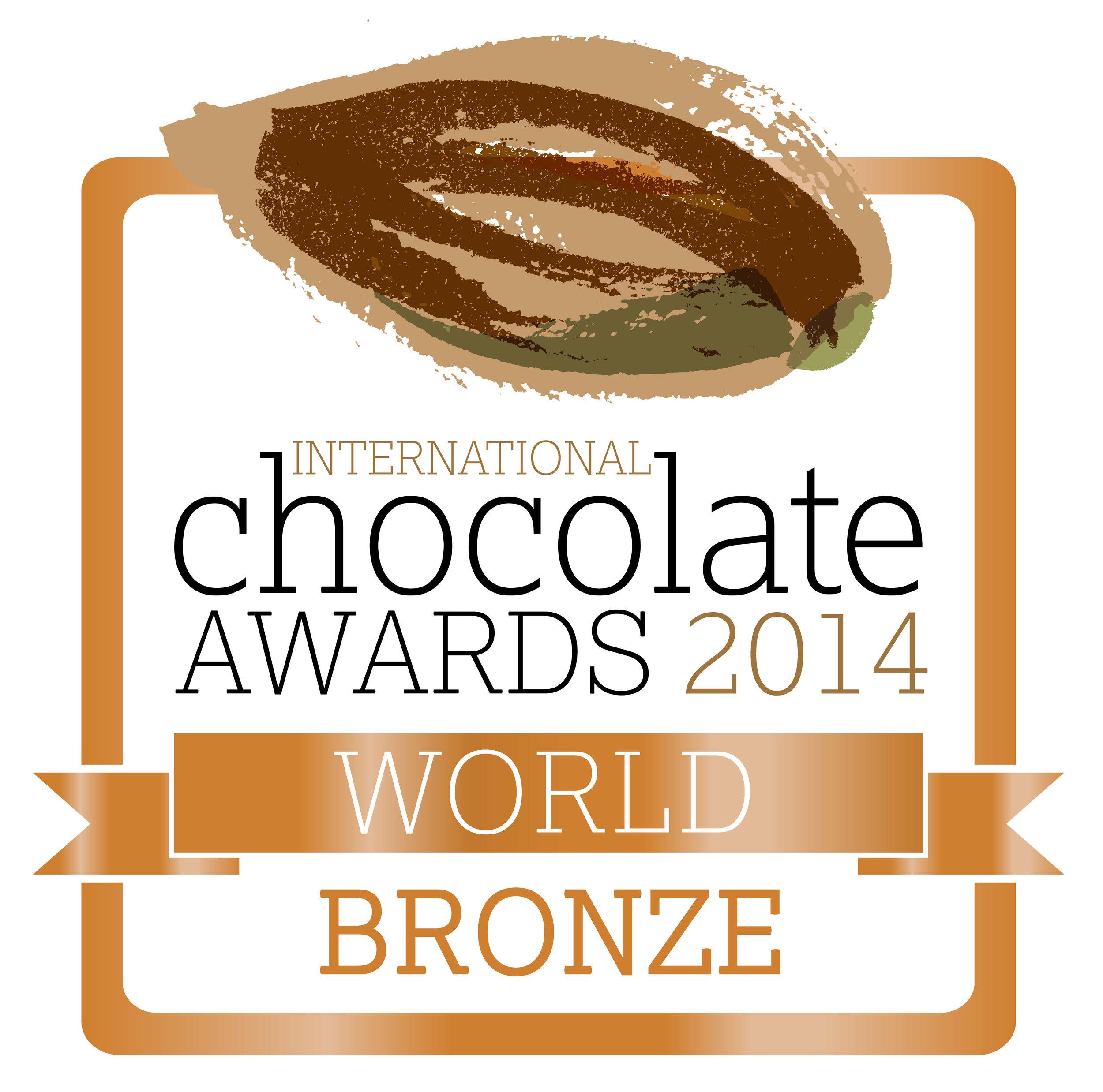 International Chocolate Awards World Bronze 2014