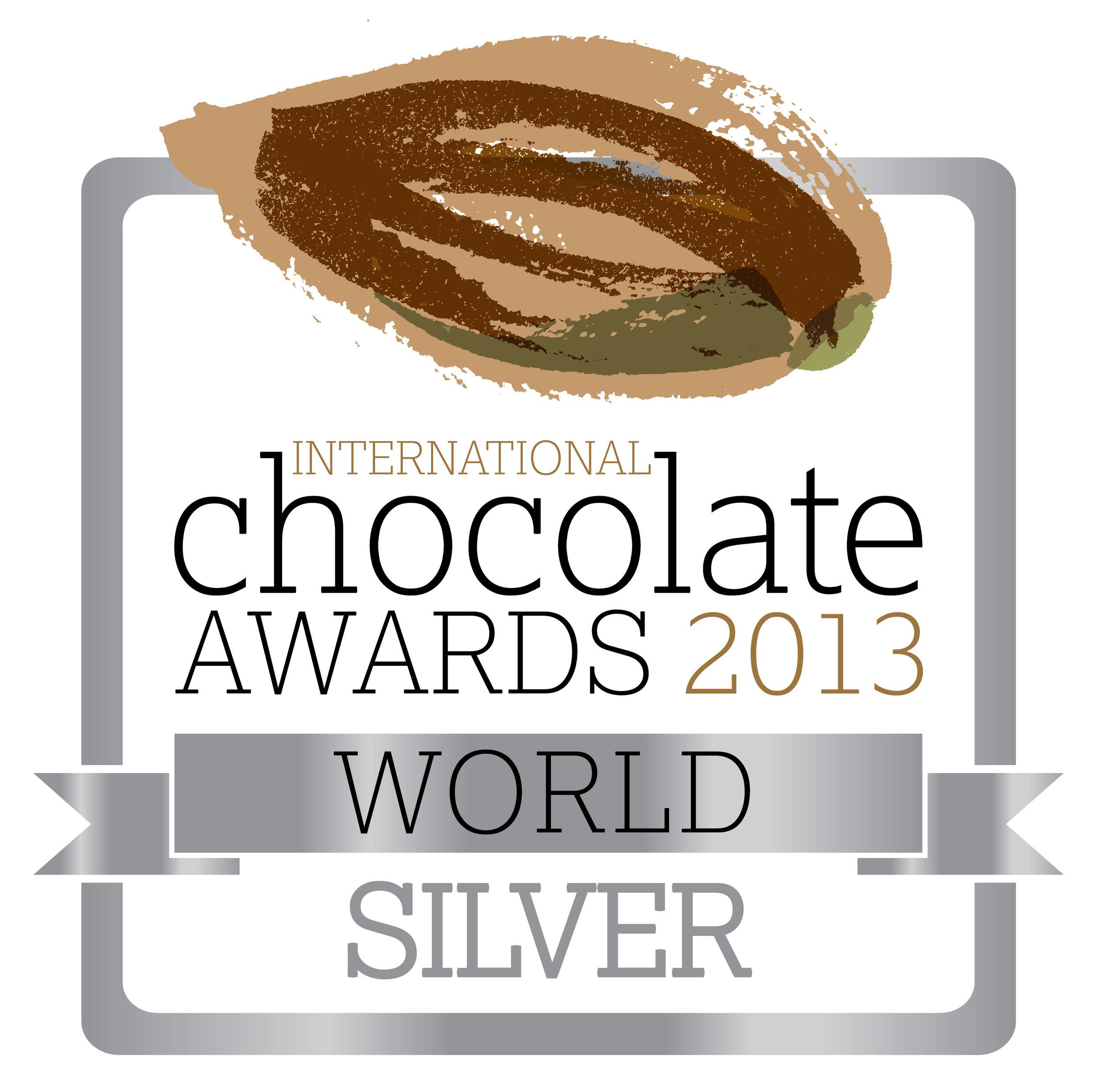 International Chocolate Award World Win 2013
