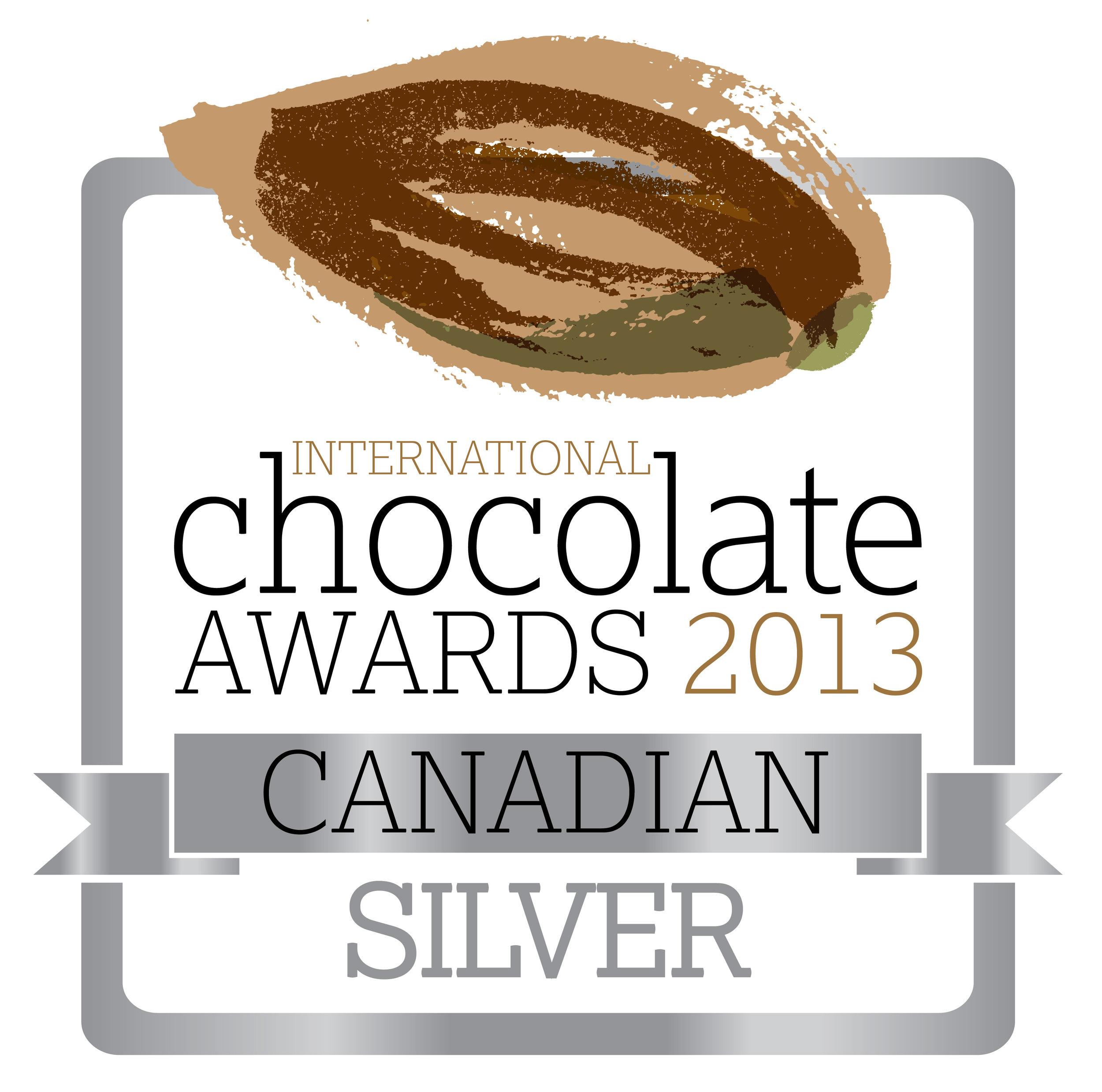 2013 International Chocolate Award winner