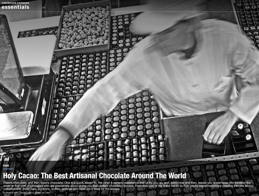 American Express Essentials lists best artisanal chocolates