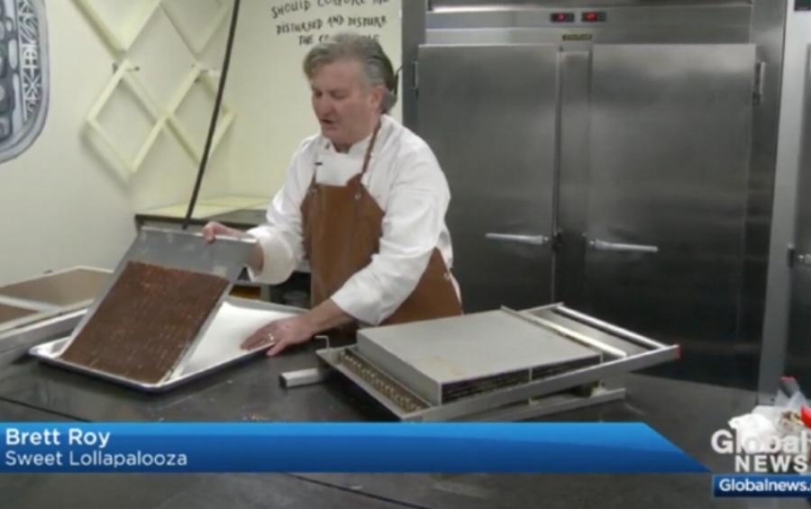 Brett Roy on Global TV Edmonton October 21, 2017