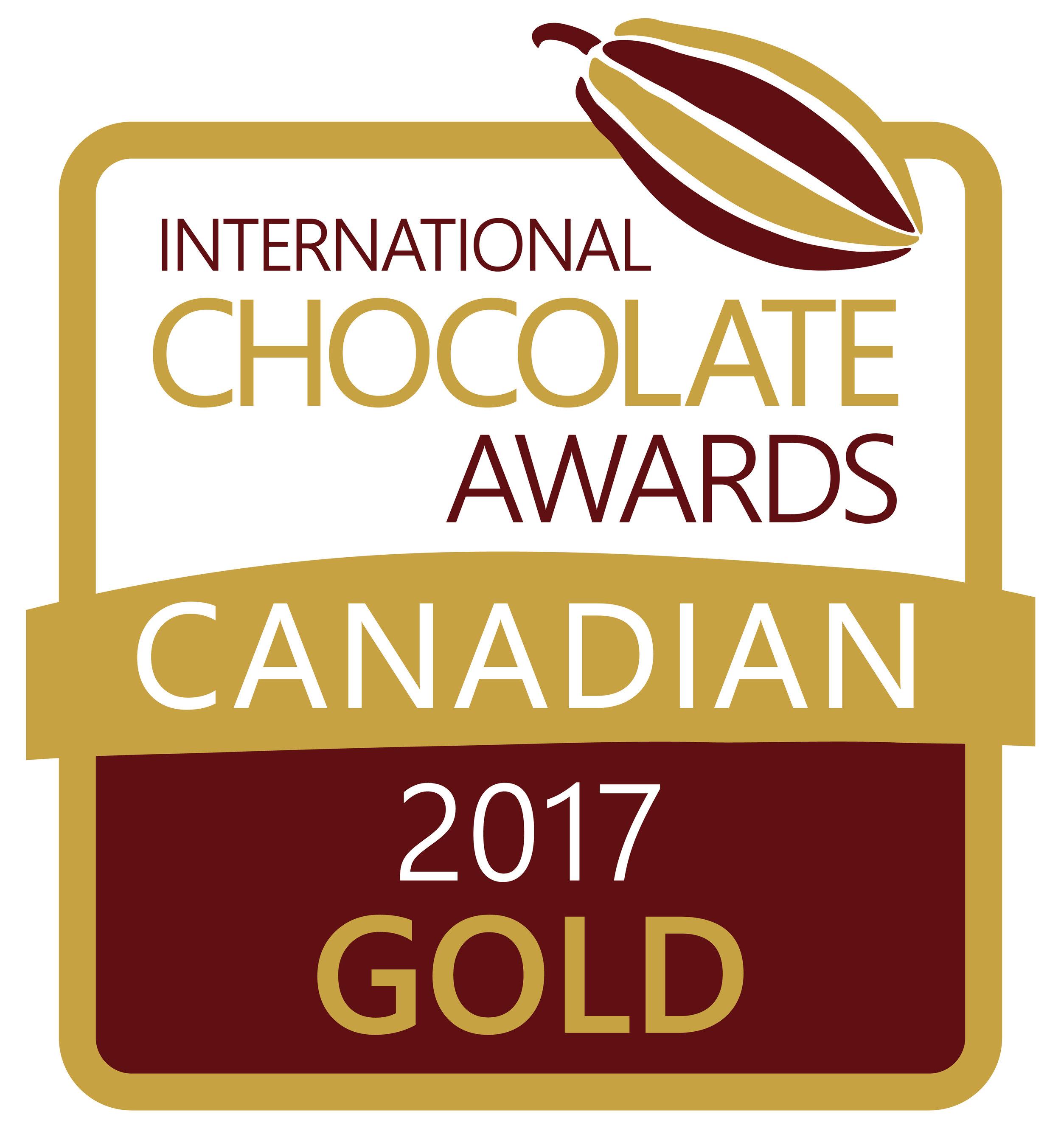 2017 International Chocolate Award Canada