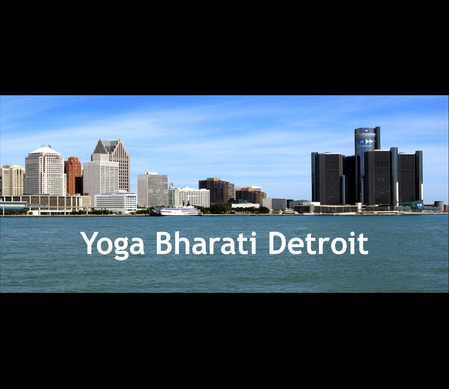 Yoga Bharati Detroit