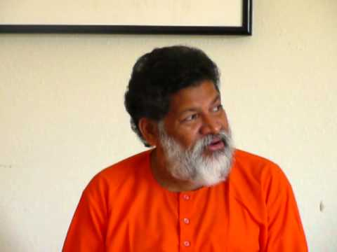 Swami Bodhananda at Yoga Bharati Satsang