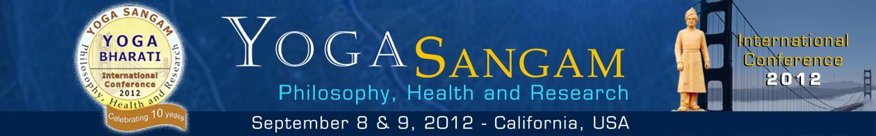Yoga Internatinal Conference 2012