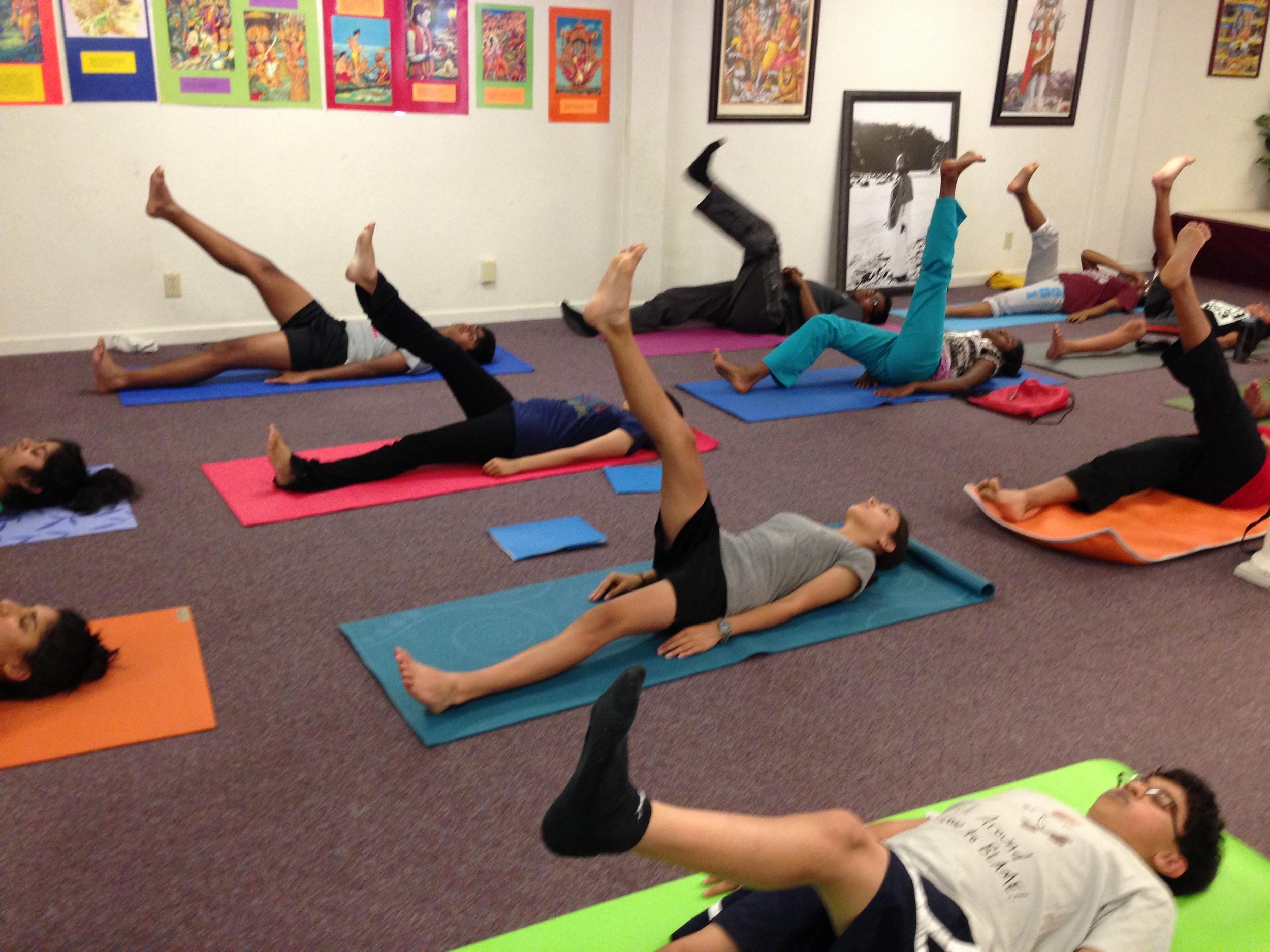 Yoga Teenager